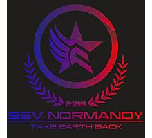 Mass Effect - Take Earth Back Photographic Print