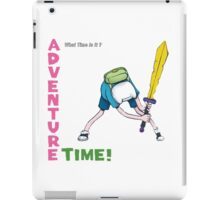 The Adventure Clash - Time calling iPad Case/Skin