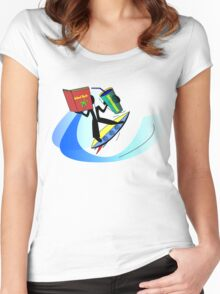 Island Style Refreshments Women's Fitted Scoop T-Shirt