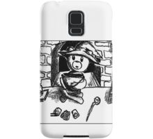 Witch Bear with Cauldron Samsung Galaxy Case/Skin