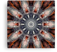 Sculpture Kaleidoscope Pattern  Canvas Print