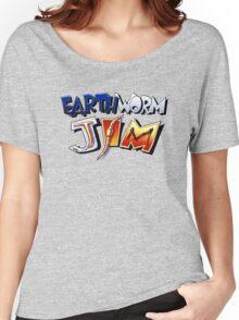Earthworm Jim Logo Women's Relaxed Fit T-Shirt