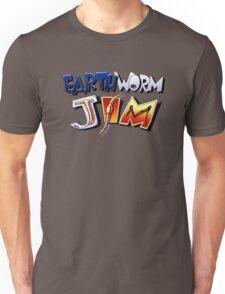 Earthworm Jim Logo Unisex T-Shirt
