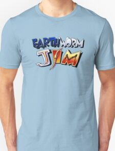 Earthworm Jim Logo T-Shirt