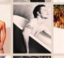 Male Vampire Diaries Cast Sticker