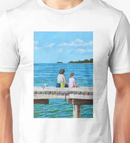 Fishing with Mum Unisex T-Shirt