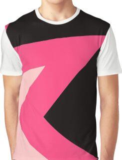 Steven Universe Garnet Chest Pattern Graphic T-Shirt