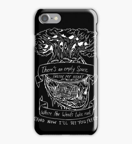 Lotus Flower - Inverted  iPhone Case/Skin
