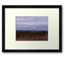 No snow for Christmas Framed Print
