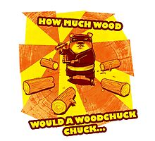 How Much Wood Would a Woodchuck Chuck by crozbones