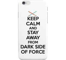 Keep Calm Dark Side iPhone Case/Skin
