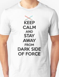 Keep Calm Dark Side Unisex T-Shirt