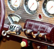 1936 Cord 810 Dashboard Sticker