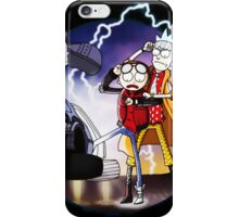 Doctor Rick and Morty iPhone Case/Skin