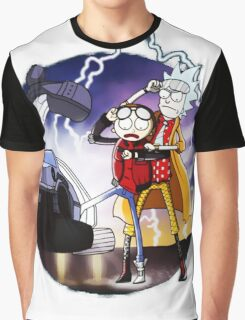 Doctor Rick and Morty Graphic T-Shirt