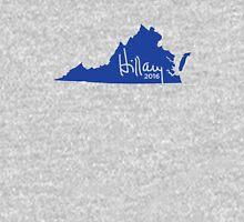 Hillary 2016 State Pride Signature - Virginia Unisex T-Shirt