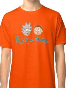 Rick Morty Face Classic T-Shirt