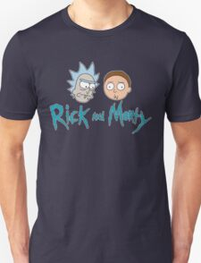 Rick Morty Face Unisex T-Shirt