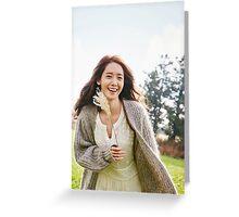YOONA SNSD 2 Greeting Card
