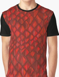 Game of Thrones - Red Dragon Scales Graphic T-Shirt