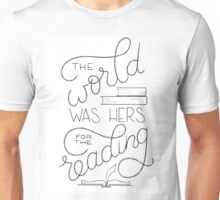 For the Reading Unisex T-Shirt