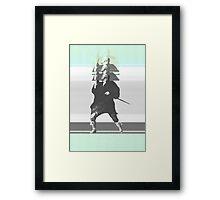 M_RCut_E_NR Framed Print