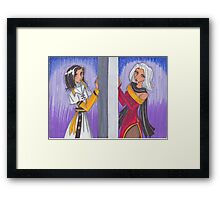 Two Sides to Every Coin Framed Print