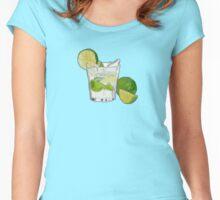 Caipirinha - Brazil's finest drink Women's Fitted Scoop T-Shirt