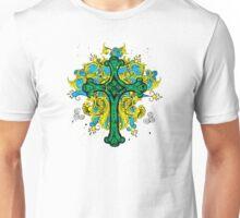 Irish Green Cross of Christ Unisex T-Shirt