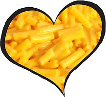 Mac N Cheese Heart by emrapper