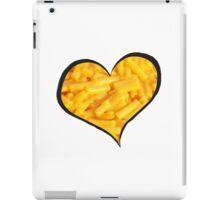 Mac N Cheese Heart iPad Case/Skin