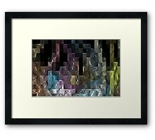 City Blocks Framed Print