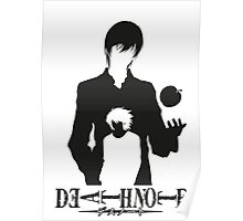 KIRA AND L DEATH NOTE Poster