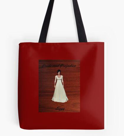 Lizzy Bennet from Pride and Prejudice Tote Bag