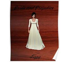 Lizzy Bennet from Pride and Prejudice Poster