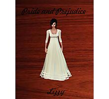 Lizzy Bennet from Pride and Prejudice Photographic Print