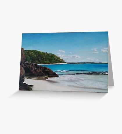 Murrays Beach Australia Greeting Card