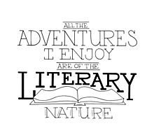 Literary Adventures Photographic Print