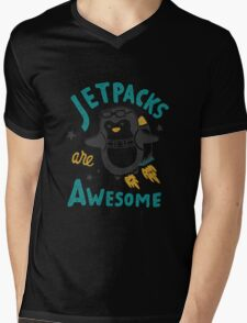 Jetpacks are Awesome Mens V-Neck T-Shirt