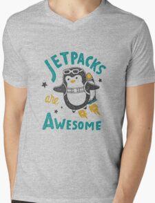 Jetpacks are Awesome Mens V-Neck T-Shirt