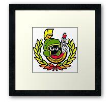 Marvin Martians Squad Framed Print