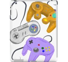 Nintendo Controller Evolution iPad Case/Skin