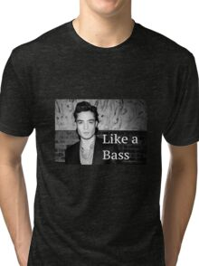 Chuck Bass: Like a Bass #2 Tri-blend T-Shirt