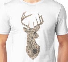 Floral Buck Unisex T-Shirt