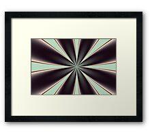 Fractal Pinch in BMAP01 Framed Print