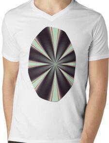 Fractal Pinch in BMAP01 Mens V-Neck T-Shirt
