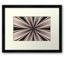 Fractal Pinch in BMAP02 Framed Print
