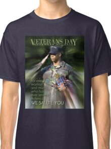 Veterans Day 2016 Poster Classic T-Shirt