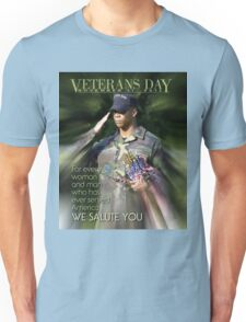 Veterans Day 2016 Poster Unisex T-Shirt