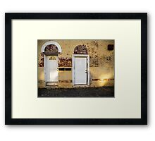Two Doors - Corinth Framed Print